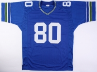 "Steve Largent Signed Seahawks Jersey Inscribed ""HOF 95"" (JSA COA) at PristineAuction.com"