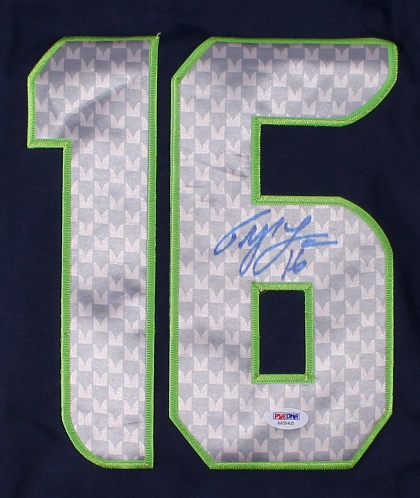 c3a3d813e Tyler Lockett Signed Seahawks Nike Jersey (PSA COA) at PristineAuction.com