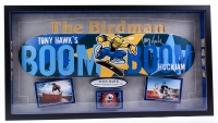 "Tony Hawk Signed ""The Birdman"" 19x35x3 Custom Framed Shadowbox Display (JSA LOA)"