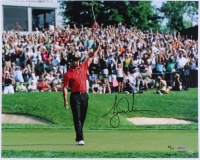 "Tiger Woods Signed LE ""73rd Win Celebration"" 16x20 Photo (UDA COA)"