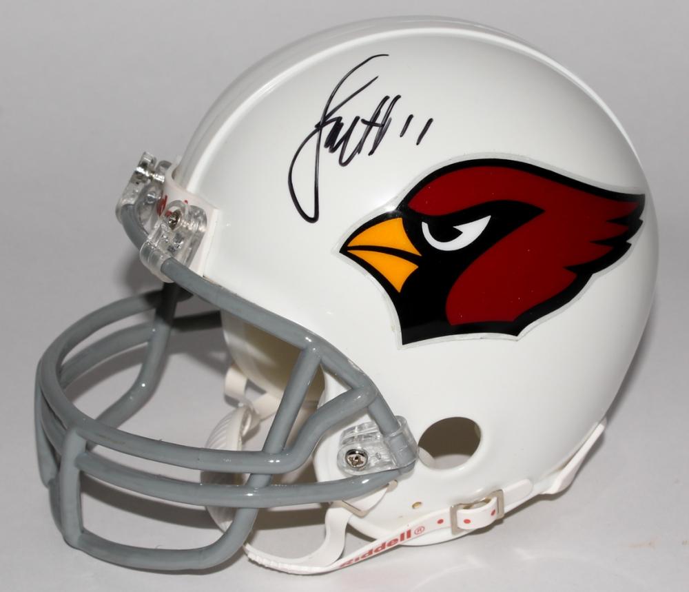 fbcaf086373 Larry Fitzgerald Signed Cardinals Mini-Helmet (JSA COA) at  PristineAuction.com