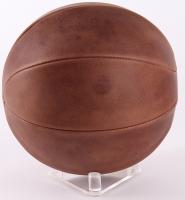 Michael Jordan Signed Naismith Leather Head Basketball (UDA COA) at PristineAuction.com