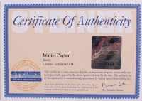 "Walter Payton Bears LE 32x36 Matted Jersey Inscribed ""Sweetness"" & ""16,726"" (Steiner COA) at PristineAuction.com"