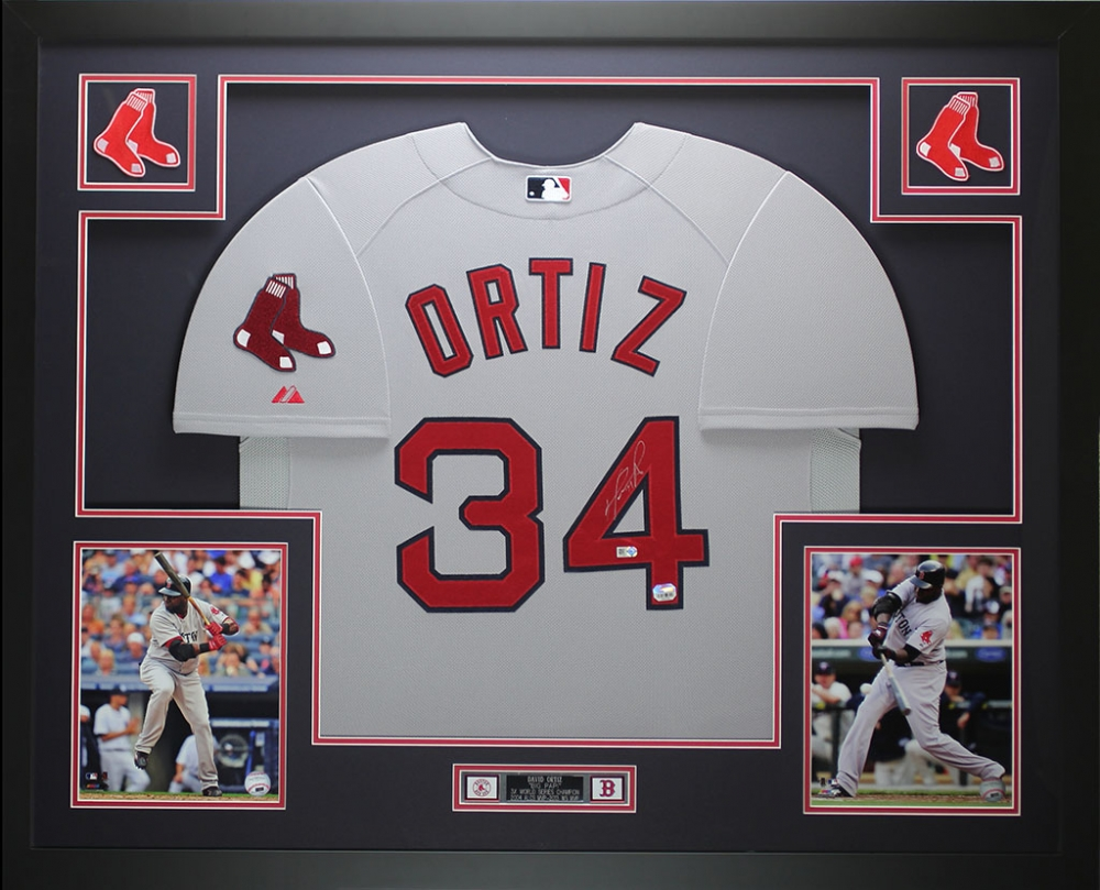 David Ortiz Signed Red Sox 35