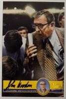 John Wooden Signed UCLA Bruins 4x6 Postcard (JSA ALOA)
