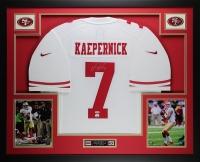 "Colin Kaepernick Signed 49ers 35"" x 43"" Custom Framed Jersey (PSA COA & Fanatics)"