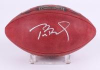 Tom Brady Signed LE Patriots Super Bowl XLIX Logo Official NFL Game Ball (TriStar Hologram)