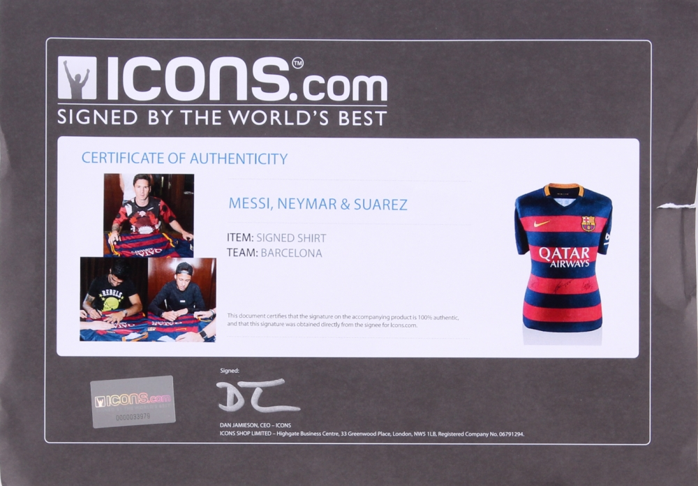0694aecca08 Lionel Messi, Neymar Jr. & Luis Suarez