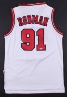 Dennis Rodman Signed Bulls Jersey (PSA COA) at PristineAuction.com