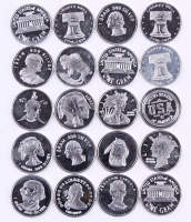Lot of (20) 1 Gram .999 Silver Rounds