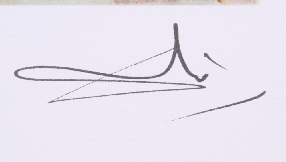 Salvador Dali Signature - #traffic-club