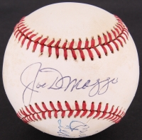 Joe DiMaggio, Mickey Mantle & Ted Williams Signed OAL Baseball (PSA LOA)
