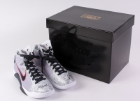 "Kobe Bryant Signed Nike Hyperdunk OG LE Team USA Olympics Basketball Shoes Inscribed ""2x Gold"" (Panini COA)"