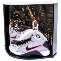 "Kobe Bryant Signed Nike Hyperdunk OG USA LE Basketball Shoes Inscribed ""2x Gold"" with Custom Curve Display Case (Panini COA) at PristineAuction.com"