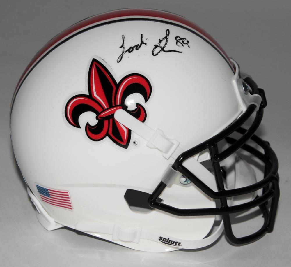Ladarius Green Signed Louisiana–Lafayette Ragin  Cajuns Mini-Helmet (TSE  COA) 1fde34451