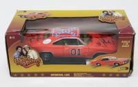 "Tom Wopat & John Schneider Signed ""General Lee"" Dukes of Hazzard 1/18 Die Cast Car with (4) Inscriptions (JSA)"