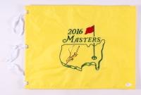 Fuzzy Zoeller Signed 2016 Masters Pin Flag (JSA COA)