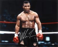 Mike Tyson Signed Boxing 16x20 Photo (GTSM COA)