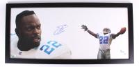 "Emmitt Smith Signed LE Cowboys ""The Show"" 23x50 Custom Framed Display Inscribed ""3x SB Champ"" (Tristar Hologram)"