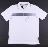 Jason Day Signed White Adidas Golf Shirt (PSACOA)