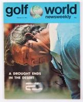 Arnold Palmer Signed 1973 Golf World Newsweekly Magazine (JSA COA)