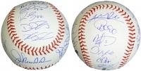 Chicago Cubs 2016 World Series Champion Team-Signed OML Baseball with (22) Signatures Including Joe Maddon, Ben Zobrist, Javier Baez, Kyle Hendricks, Addison Russell, Dexter Fowler (Schwartz COA)