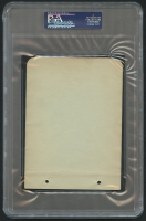 Babe Ruth Signed 4x6 Cut (PSA Encapsulated) at PristineAuction.com