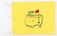 Danny Willett Signed 2016 Masters Golf Pin Flag (JSA COA)