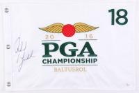 Phil Mickelson Signed 2016 PGA Championship Pin Flag (JSA LOA)