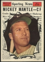 1961 Topps #578 Mickey Mantle All-Star