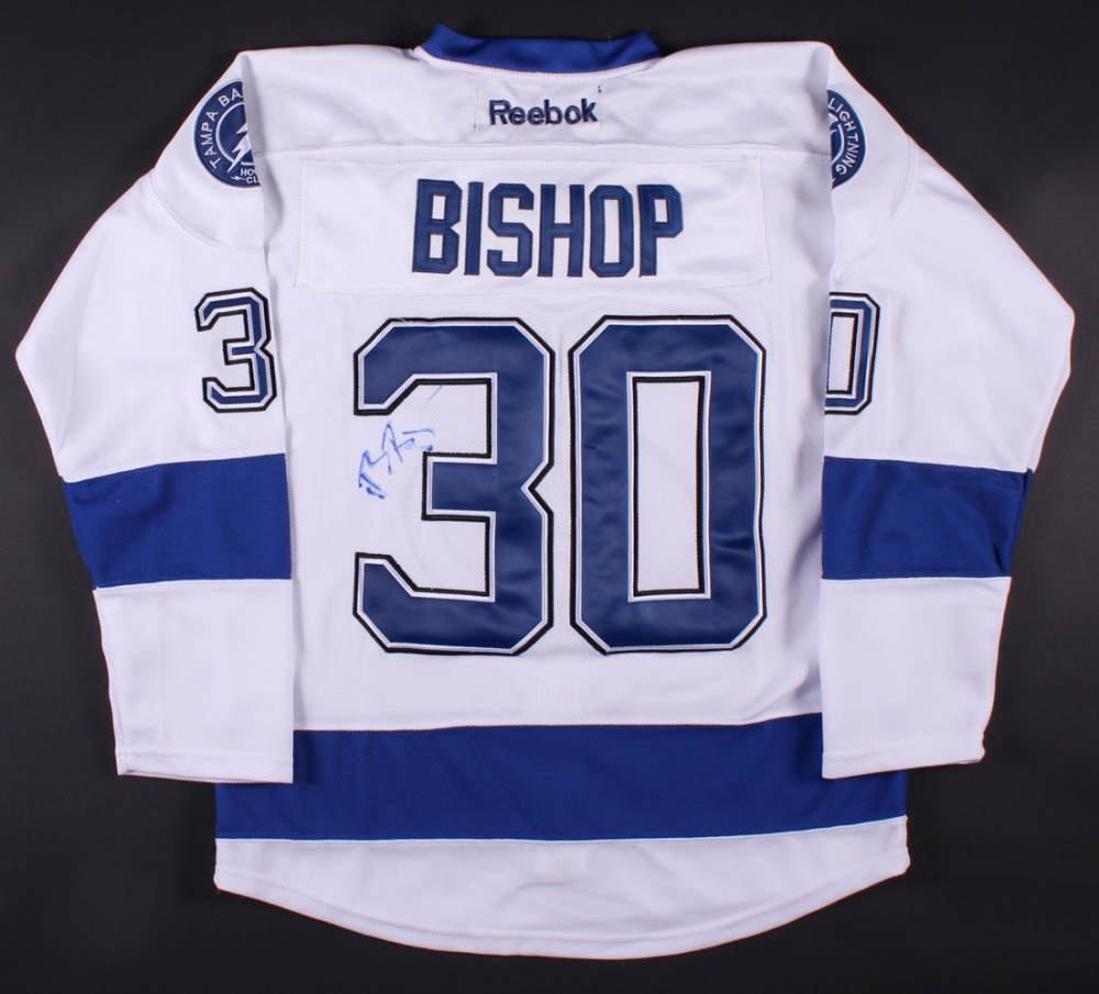 Ben Bishop Signed Lightning Jersey (PSA COA) at PristineAuction.com 64d9eecea