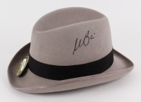 "Al Pacino Signed ""The Godfather"" Movie Prop Replica Grey Fedora Hat (PSA COA)"