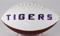 Odell Beckham Jr Signed LSU Tigers Logo Football (JSA COA) at PristineAuction.com