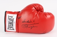 "Muhammad Ali & ""Smokin"" Joe Frazier Signed Everlast Boxing Glove (PSA LOA & Super Star Hologram)"