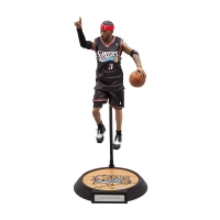 Allen Iverson Signed Philadelphia 76ers Limited Edition Enterbay Figurine (UDA COA)