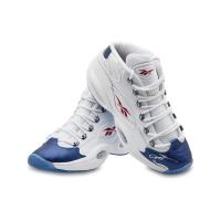 Allen Iverson Signed Limited Edition Reebok Question Mid Shoes with Blue Toe (UDA COA) at PristineAuction.com