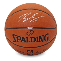 Ben Simmons Signed Spalding Official NBA Game Ball (UDA COA) at PristineAuction.com