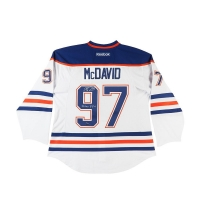 "Connor McDavid Signed Oilers LE Jersey Inscribed "":22 Goal - 3/1/16"" (UDA COA) at PristineAuction.com"