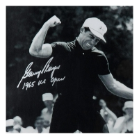 """Gary Player Signed """"Fist Pump"""" 16x20 LE Photo Inscribed """"1965 US Open"""" (UDA COA) at PristineAuction.com"""