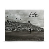 "Gary Player Signed LE ""Putt for the Win"" 16x20 Photo Inscribed ""1974 Open Champ"" (UDA COA)"