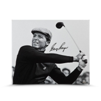 """Gary Player Signed """"Up Close & Personal"""" 20x24 Photo on Canvas LE 25 (UDA COA)"""