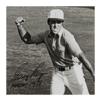 """Gary Player Signed """"Victory Celebration"""" 16x20 Limited Edition Photo Inscribed """"Masters 1978""""  (UDA COA) at PristineAuction.com"""