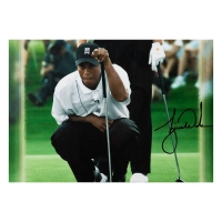 """Jack Nicklaus & Tiger Woods Signed """"Match Play"""" 16x20 Photo (UDA COA) at PristineAuction.com"""
