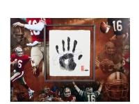 Joe Montana Signed 49ers LE 36x36 Custom Framed Tegata Display (UDA COA) at PristineAuction.com