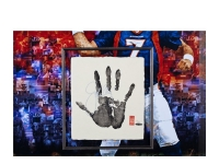 John Elway Signed LE 36x36 Custom Framed Tegata Display (UDA COA) at PristineAuction.com
