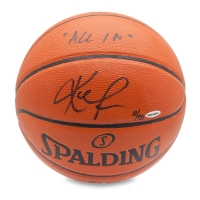"Kevin Love Signed Limited Edition Basketball Inscribed ""All In"" (UDA COA) at PristineAuction.com"