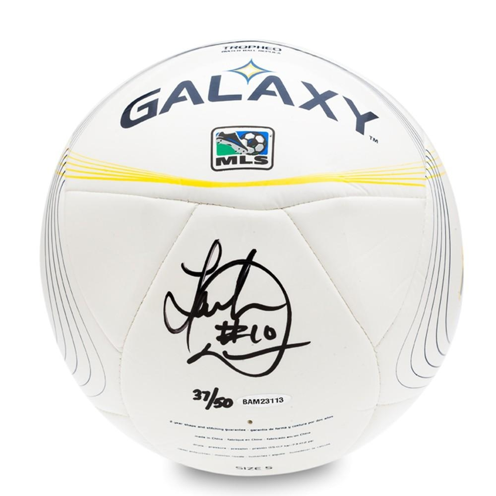Landon Donovan Signed L.A. Galaxy Adidas Tropheo Replica Match Ball (UDA  COA) at PristineAuction 2ef5b552b