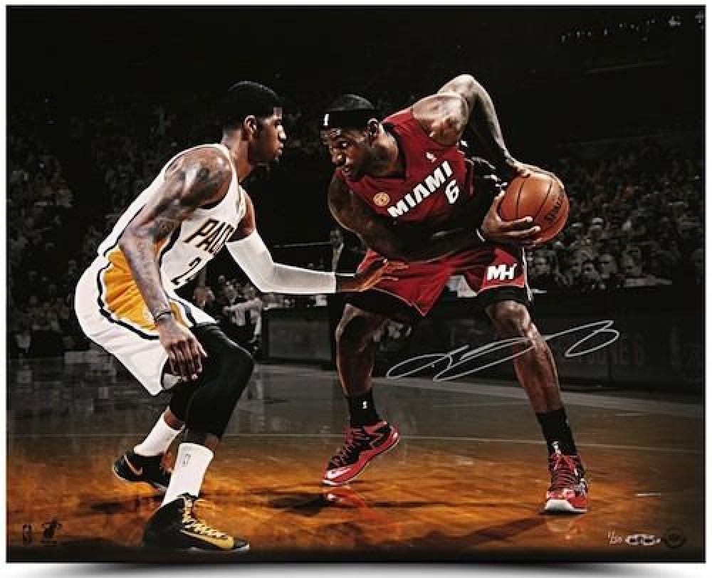 lebron james autograph - photo #17