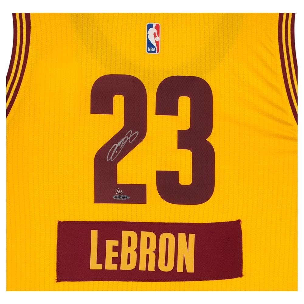 98af8a200 LeBron James Signed LE Cavaliers Christmas Day Jersey (UDA COA) at  PristineAuction.com