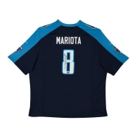 Marcus Mariota Signed Tennessee Titans Jersey (UDA COA) at PristineAuction.com